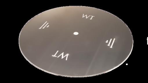 """Picture of 60"""" Circular 3/16"""" Aluminum Plate"""