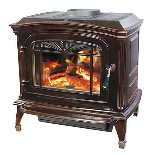 Picture of SWC21 Wood Stove (Mahogony)
