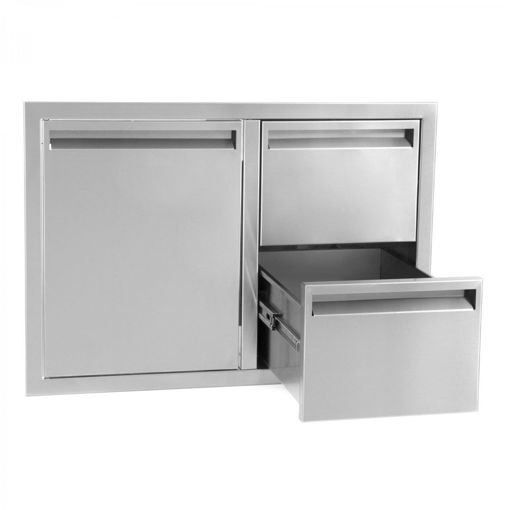 "Picture of PCM‐350 30"" SINGLE DOOR/ 2 DRAWERS"