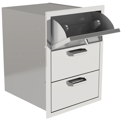 Picture of PCM-350H 17X24 TRIPLE ACCESS DRAWER WITH PAPER TOWEL DISPENSER