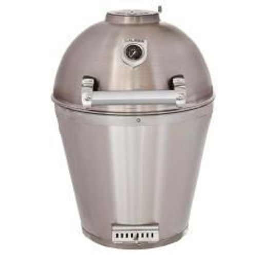 Picture of Caliber Pro Stainless Steel Kamado Grill - Stainless Steel
