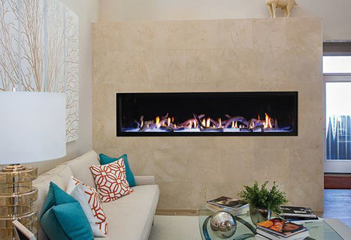 """Picture of 72"""" Boulevard Direct-Vent Linear Contemporary"""