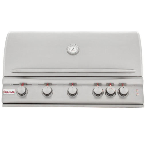 Picture of Blaze 40 Inch 5-Burner LTE Gas Grill with Rear Burner and Built-in Lighting System