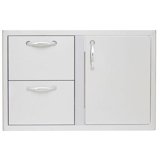 Picture of Blaze 32 Inch Access Door & Double Drawer Combo