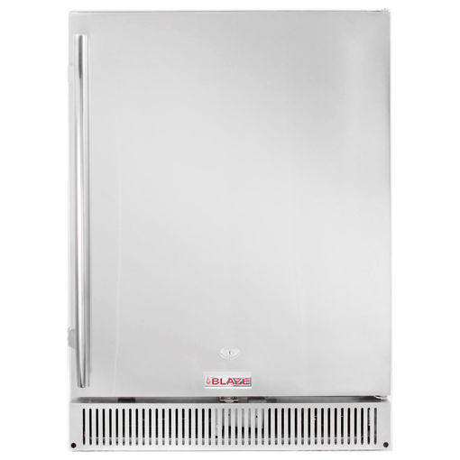 "Picture of Blaze Outdoor Rated Stainless 24"" Refrigerator 5.2 CU"