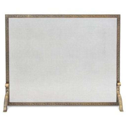 Picture of Bay Branch Embossed Single Panel Screen