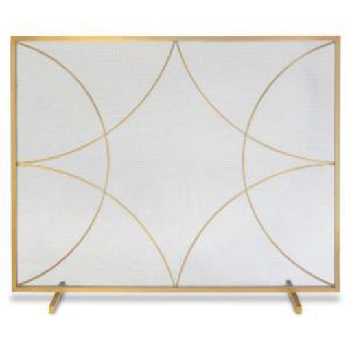 Picture of Forged Diamond Flat Panel Brass