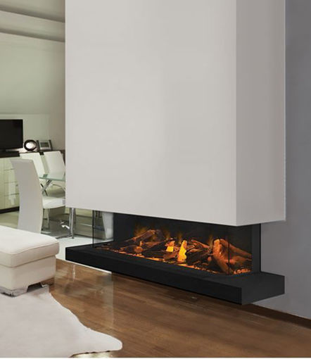 Picture of European Home E60 3-Sided / Corner Linear Electric Fireplace