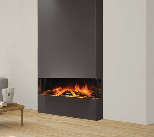 Picture of European Home E40 3-Sided / Corner Linear Electric Fireplace