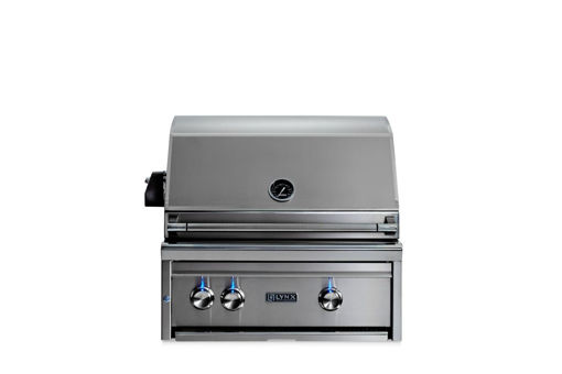 "Picture of 27"" PROFESSIONAL BUILT IN GRILL WITH ALL CERAMIC BURNERS AND ROTISSERIE (L27R-3)"