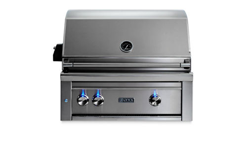 "Picture of 30"" PROFESSIONAL BUILT-IN GRILL WITH ALL TRIDENT INFRARED BURNERS AND ROTISSERIE (L30ATR)"