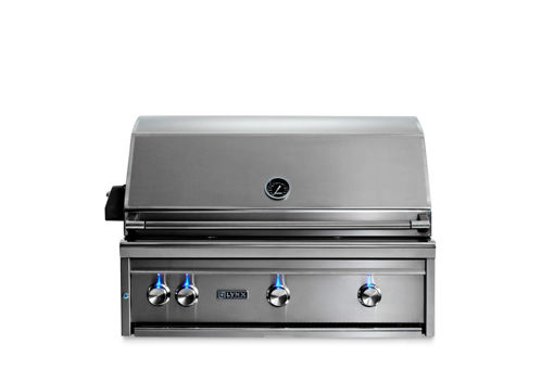 """Picture of 36"""" PROFESSIONAL BUILT-IN GRILL WITH ALL TRIDENT INFRARED BURNERS AND ROTISSERIE (L36ATR)"""