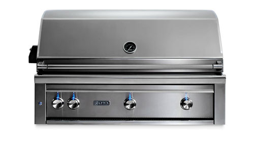 "Picture of 42"" PROFESSIONAL BUILT-IN GRILL WITH ALL TRIDENT INFRARED BURNERS AND ROTISSERIE (L42ATR)"