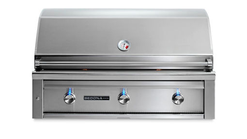 "Picture of 42"" SEDONA BUILT-IN GRILL WITH 1 PROSEAR INFRARED BURNER AND 2 STAINLESS STEEL BURNERS (L700PS)"