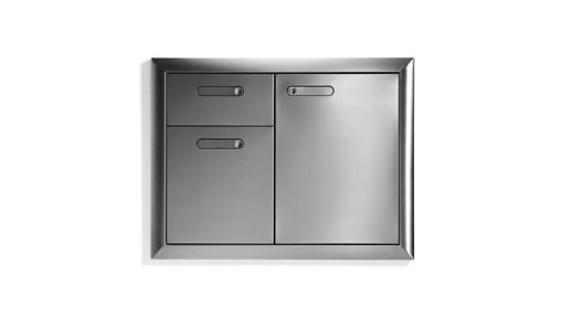 Picture of VENTANA TRASH DRAWERS COMBO UNIT (LTA30-4)