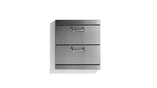 """Picture of CLASSIC 2 FULL EXTRA LARGE UTILITY DRAWERS WITH 5"""" OFFSET HANDLESSET HANDLES (LUDXL-1)"""
