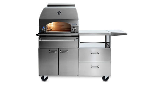 """Picture of 30"""" NAPOLI OUTDOOR OVEN™ ON MOBILE KITCHEN CART (LPZAF)"""