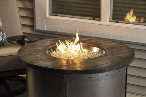 Picture of Edison Round Gas Fire Pit Table