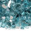 "Picture of 1/4"" Azuria Reflective Fire Glass"
