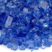 """Picture of 1/4"""" Cobalt Fire Glass"""
