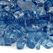"Picture of 1/2"" Pacific Blue Fire Glass"