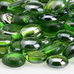 "Picture of 1/2"" Emerald Green Luster Fire Beads"