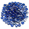"Picture of 1/2"" Royal Blue Luster Fire Beads"