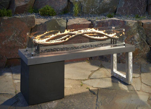 Picture of Wave Gas Fire Pit Table