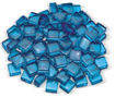 "Picture of 1/2"" Pacific Blue Luster Fire Glass 2.0"