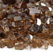 """Picture of 1/4"""" Copper Reflective Fire Glass"""